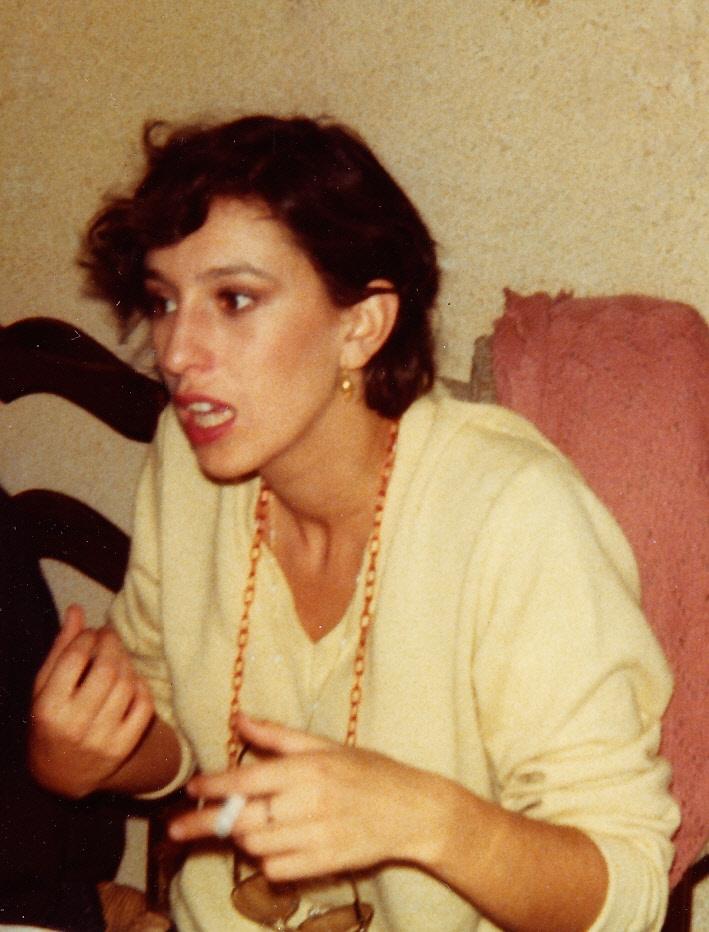 Anemone le soir de la premiere le 25-09-1978