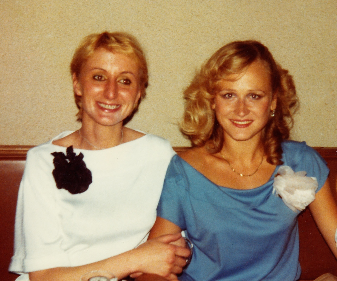 Anna Maria Poleska et Katia Tchenko le soir de la premiere le 25-09-1978
