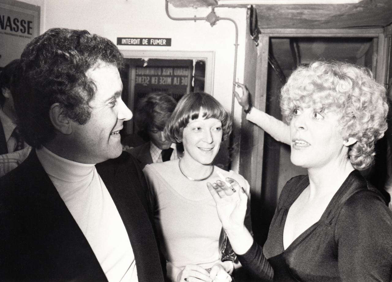 Henri Mitton et Sylvie Joly en mai 1976