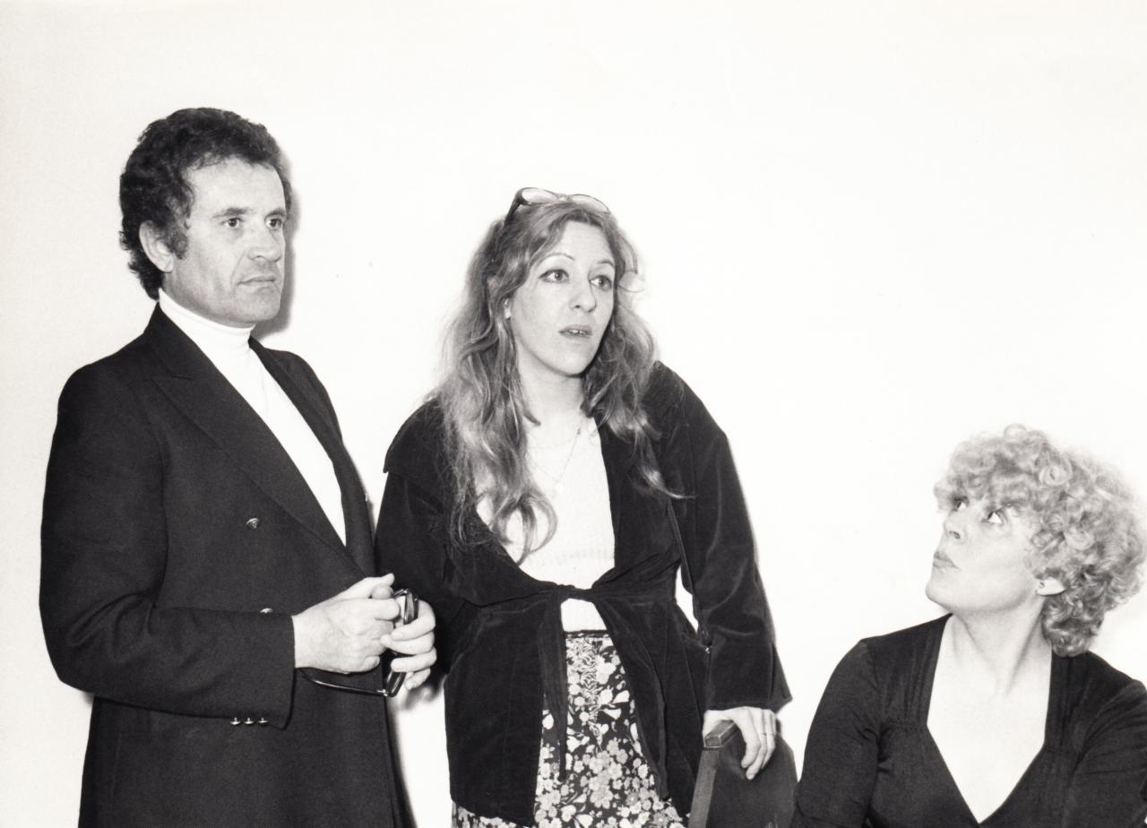 Henri Mitton, Marika Hodjis et Sylvie Joly en mai 1976