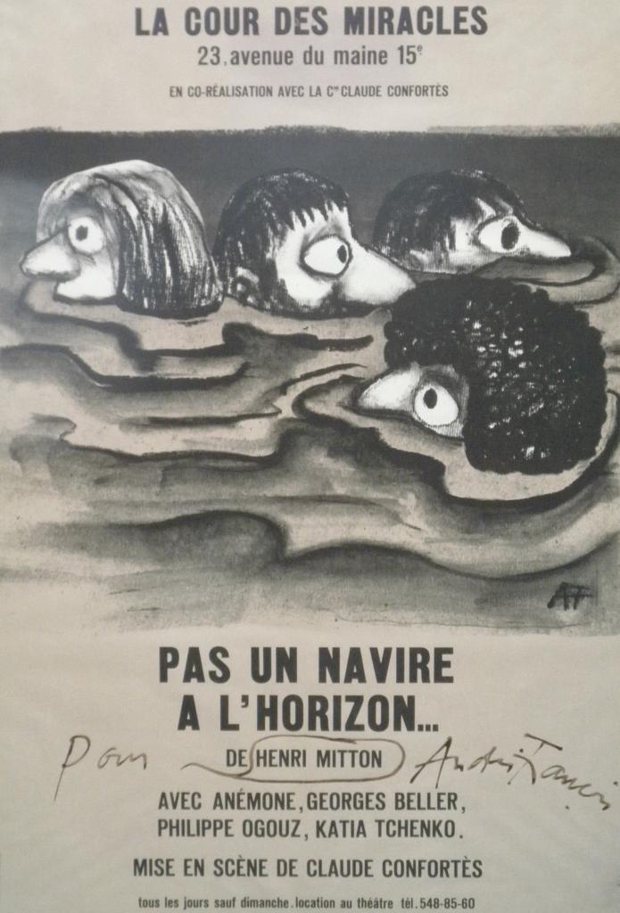 Affiche : Pas un navire à l'horizon affiche